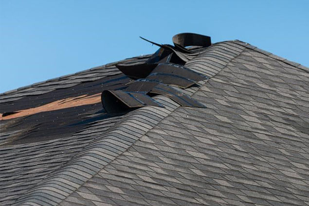 Roof Damage Pic1